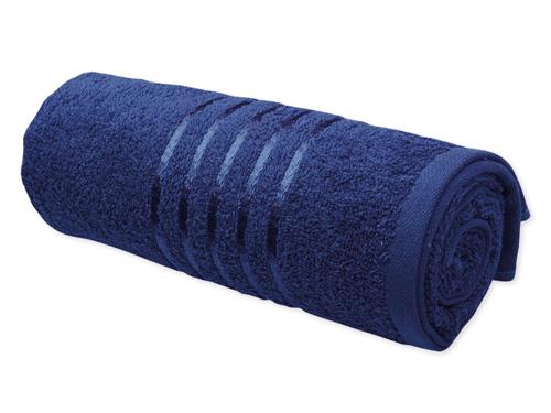 Mėlynas rankšluostis siuvinėjimui