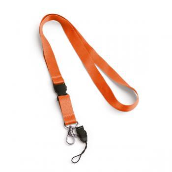 Oranžinė kaklajuostė su Jūsų firmos logotipu