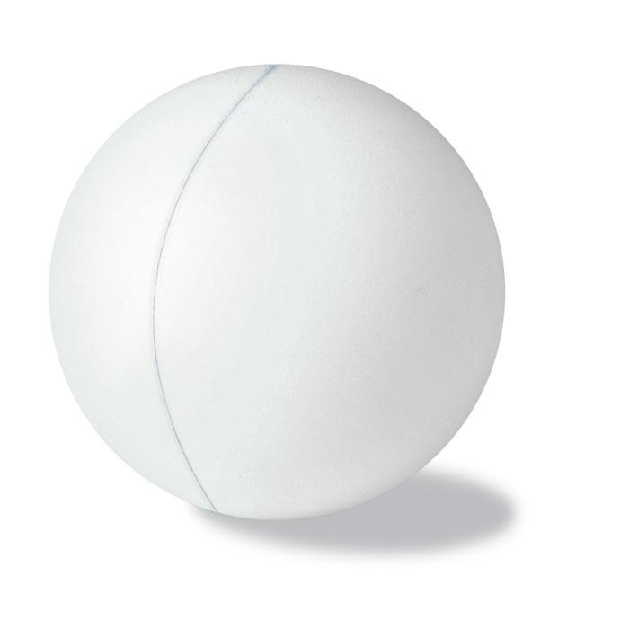 Baltas antistresinis kamuoliukas