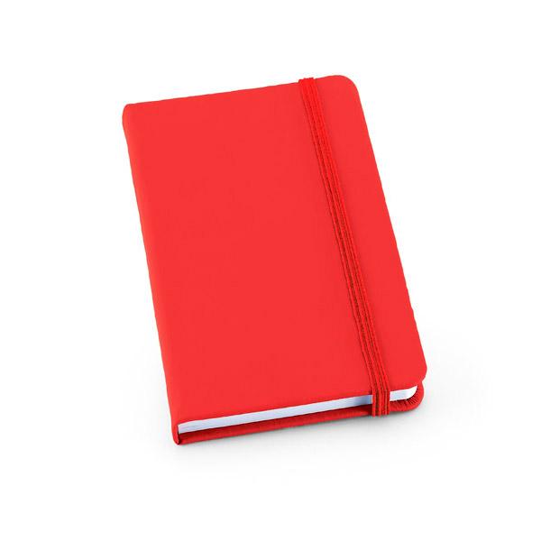 Knygelė A5 raudona