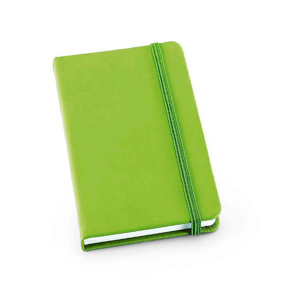 Žalia užrašų knygelė