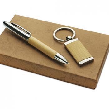 Rinkinys rašiklis ir pakabukas