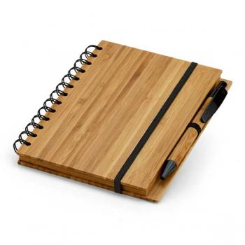 Medinė užrašų knygelė