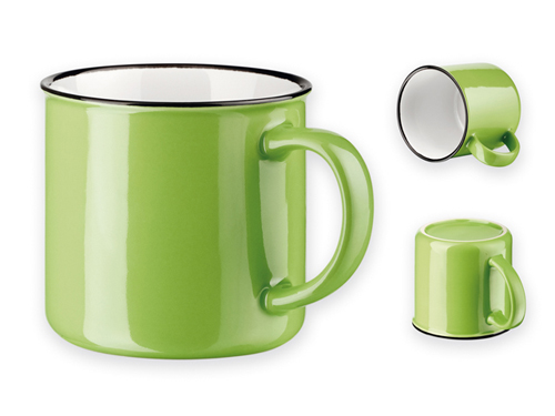 Puodelis žalias