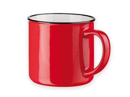 Retro stiliaus puodelis