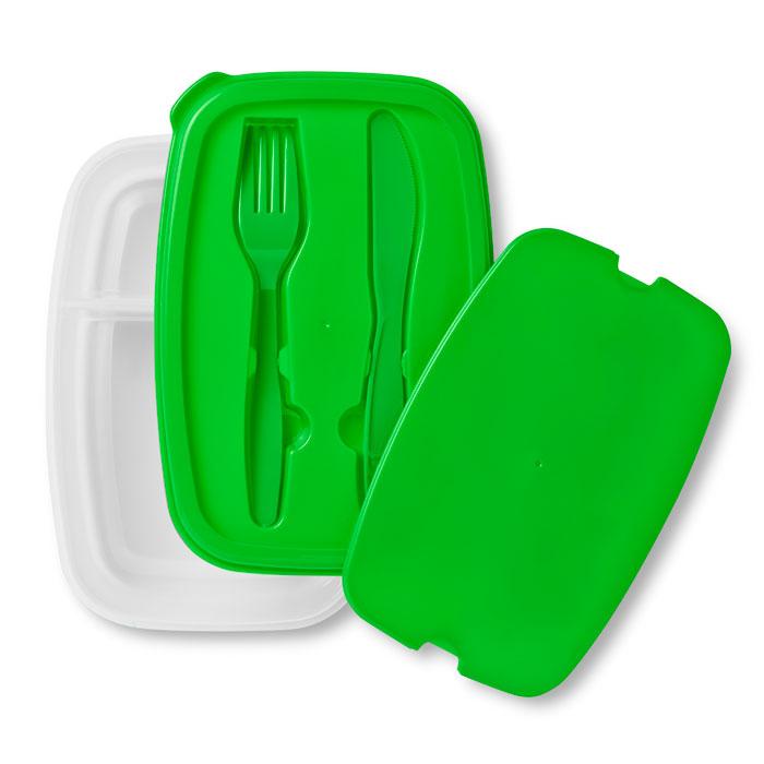Maisto dėžutė žalia
