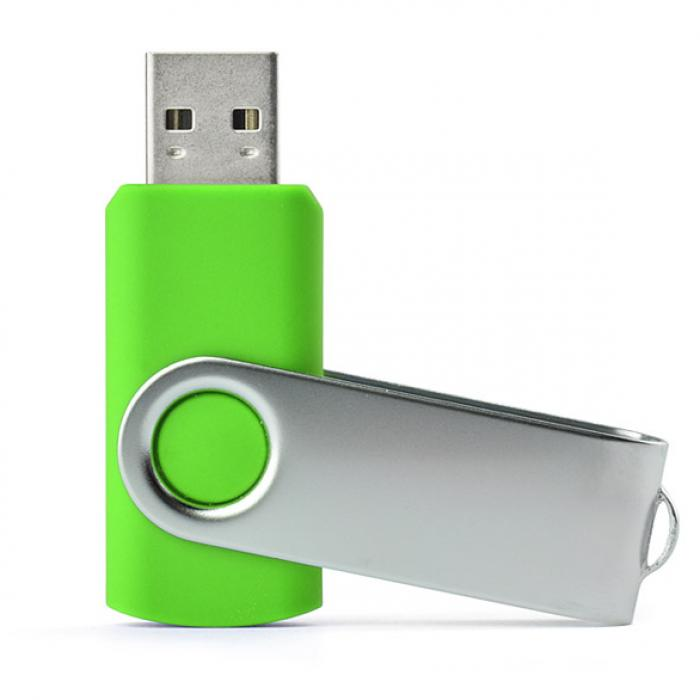 USB raktas 16 GB žalias