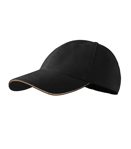juoda kepurėlė
