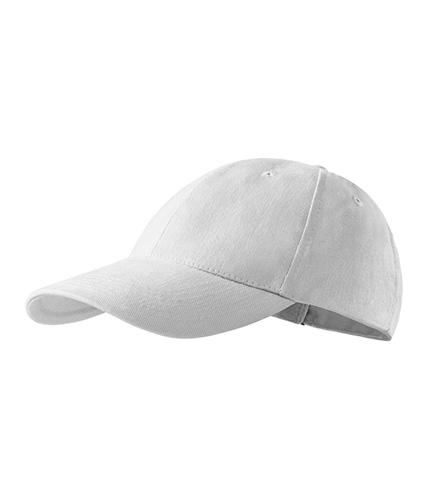 Balta reklaminė kepurėlė