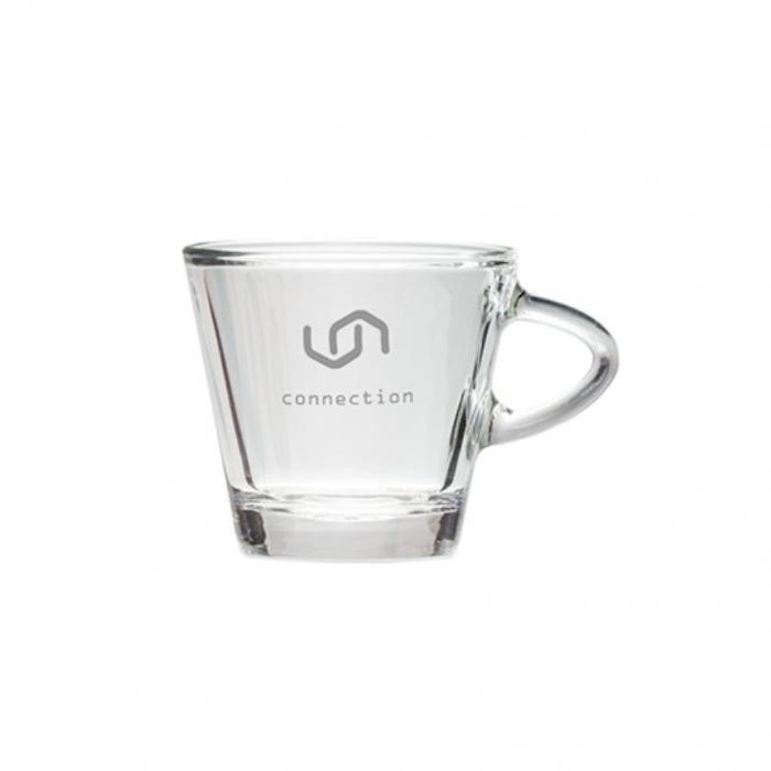 Mažas stiklo puodelis