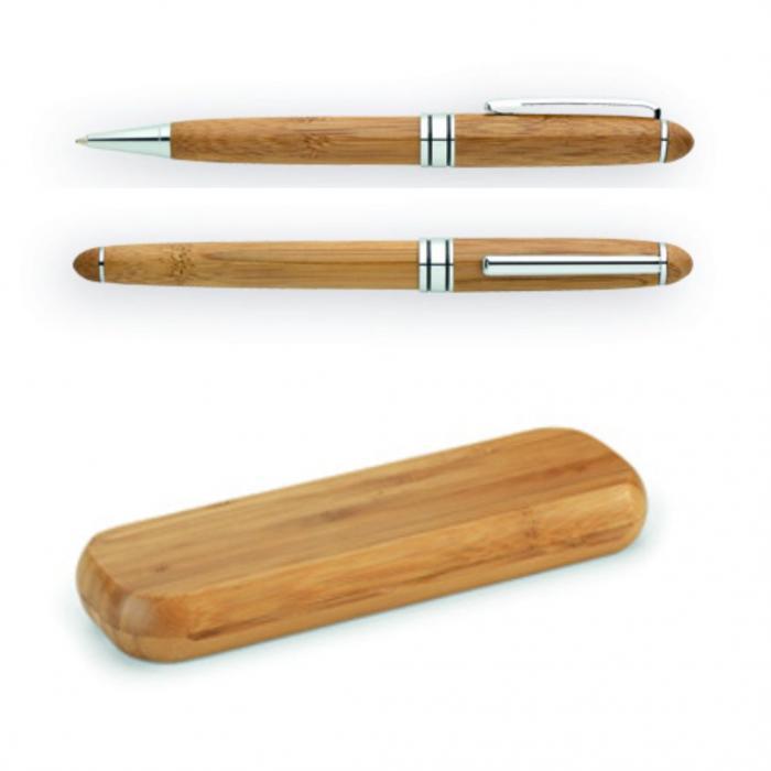 Mediniai rašikliai dėžutėje