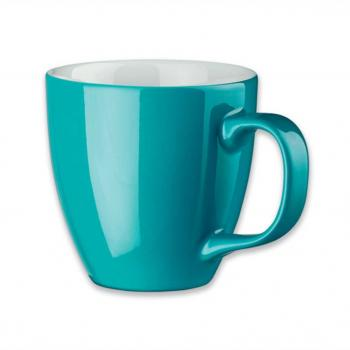 Spalvoti porceliano puodeliai