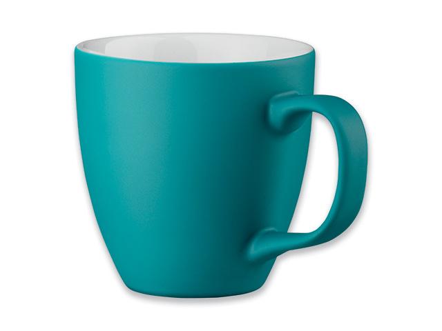 Turkio spalvos puodelis