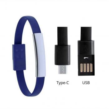 Guminė USB apyrankė