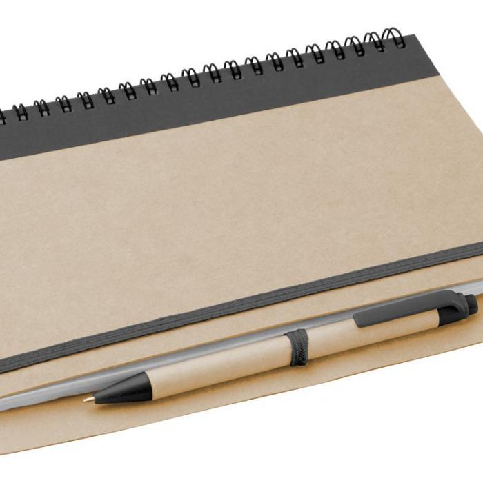 Knygelė su rašikliu