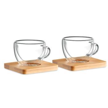 Stiklo puodeliai